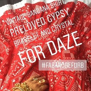 Dresses & Skirts - Vintage Bandana Skirt